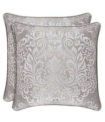 Image of J. Queen New York La Scala Silver Square Pillow