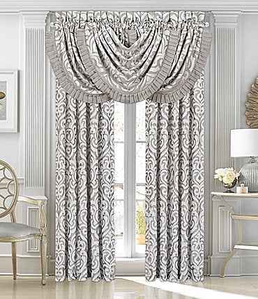 Image of J. Queen New York Luxembourg Silver Window Treatments