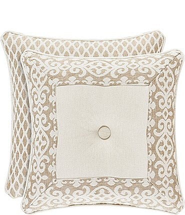 Image of J. Queen New York Milano Sand Square Pillow
