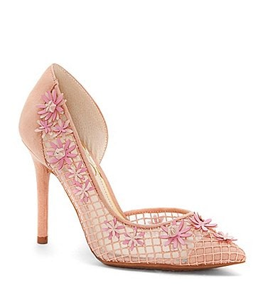 Image of Jessica Simpson Leighah Flower Detail d'Orsay Pumps