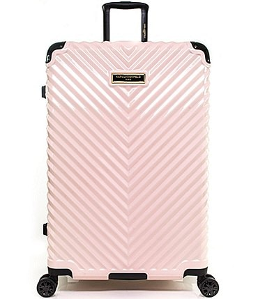 "Image of KARL LAGERFELD PARIS Chevron 28"" Hardside Spinner"