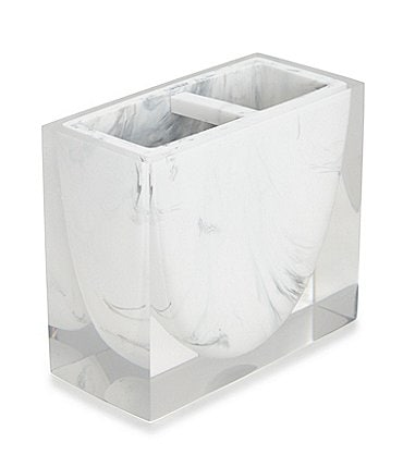 Image of Kassatex Ducale Marble Toothbrush Holder