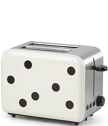 Image of kate spade new york All in Good Taste Deco Dot 2-Slice Toaster