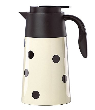 Image of kate spade new york All in Good Taste Deco Dot Hot Beverage Carafe