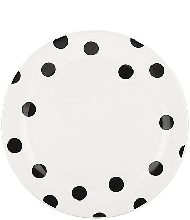 Image of kate spade new york All in Good Taste Deco Dot Stoneware Dinner Plate