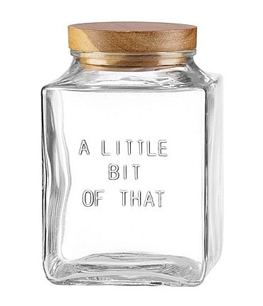 "Image of kate spade new york All in Good Taste Little Bit of That 7"" Canister"