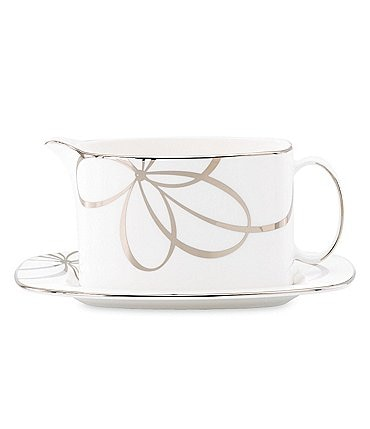 Image of kate spade new york Belle Boulevard Gravy Boat with Stand