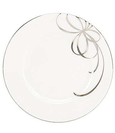 Image of kate spade new york Belle Boulevard Platinum Dinner Plate