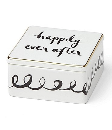 Image of kate spade new york Bridal Party Keepsake Box