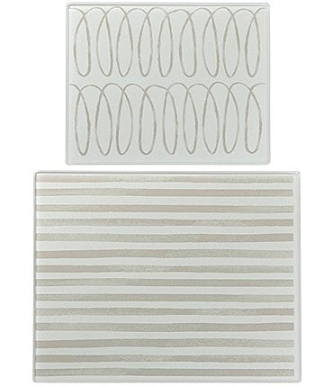 Image of kate spade new york Charlotte Street Glass Prep Boards, Set of 2