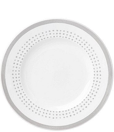 Image of kate spade new york Grey Charlotte Street Porcelain Accent Plate