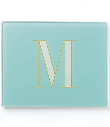 Image of kate spade new york Its Personal Glass Initial Prep Boards