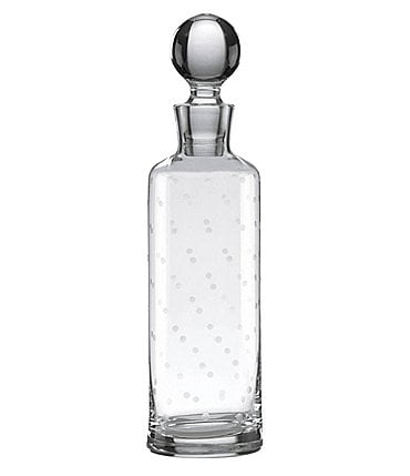 Image of kate spade new york Larabee Dot Crystal Decanter