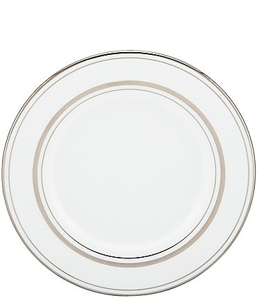 Image of kate spade new york Library Lane Platinum Saucer