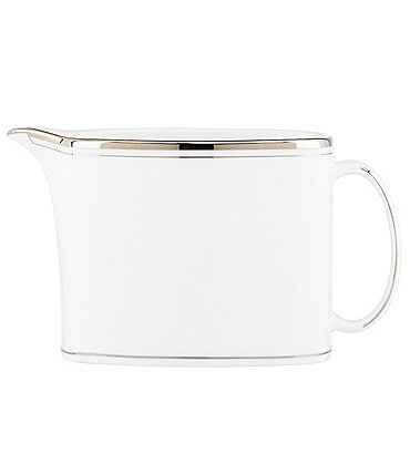 Image of kate spade new york Library Lane Platinum-Striped Creamer