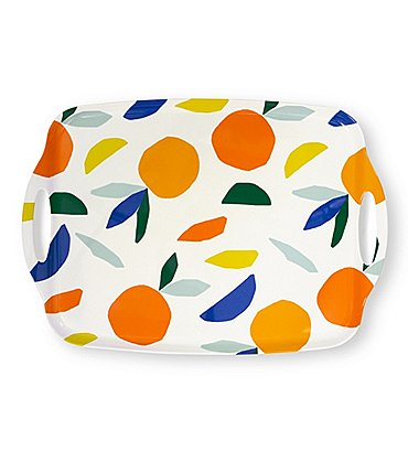 Image of kate spade new york Melamine Citrus Twist Serving Tray