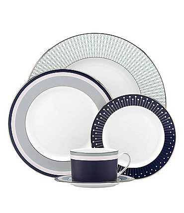 Image of kate spade new york Mercer Drive 5-Piece Place Setting