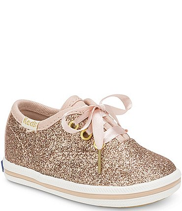 Image of Keds for kate spade new york Girls' Glitter Sneakers Infant