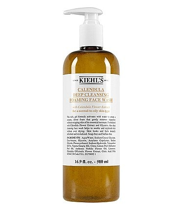 Image of Kiehl's Since 1851 Calendula Deep Cleansing Foaming Face Wash