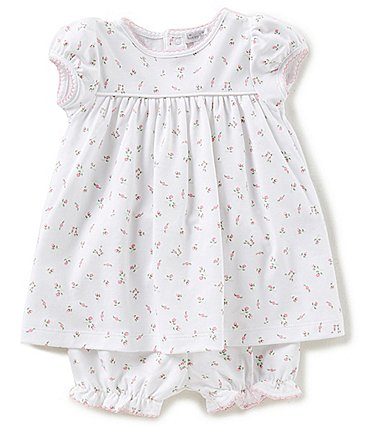 Image of Kissy Kissy Baby Girls Newborn-9 Months Garden Roses Printed Dress