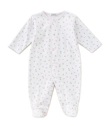 Image of Kissy Kissy Baby Girls Preemie-9 Months Garden Roses Footed Coverall