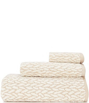 Image of Lauren Ralph Lauren Sanders Basketweave Antimicrobial Bath Towels