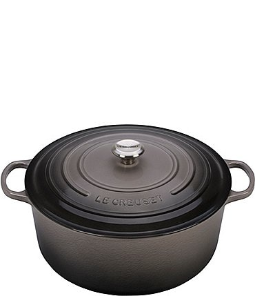 Image of Le Creuset 13.25-Quart Signature Round Dutch Oven with Stainless Steel Knob