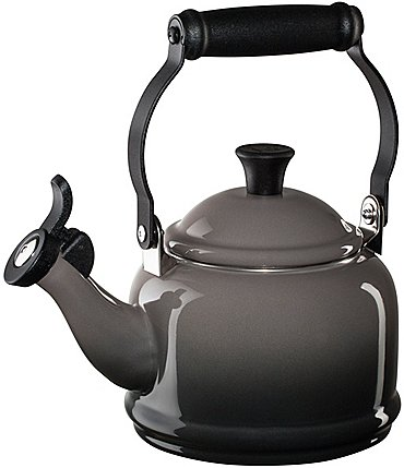 Image of Le Creuset 1.25-Quart Enameled Steel Demi Tea Kettle