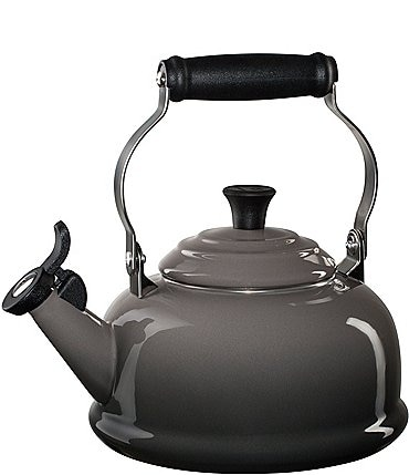 Image of Le Creuset 1.8-Quart Enamel Steel Classic Whistling Kettle