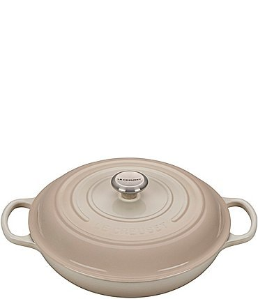 Image of Le Creuset Signature 3.75-Quart Enameled Cast Iron Braiser