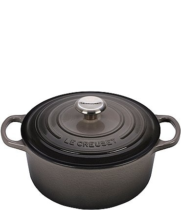 Image of Le Creuset Signature 4.5-Quart Round Enameled Cast Iron Dutch Oven