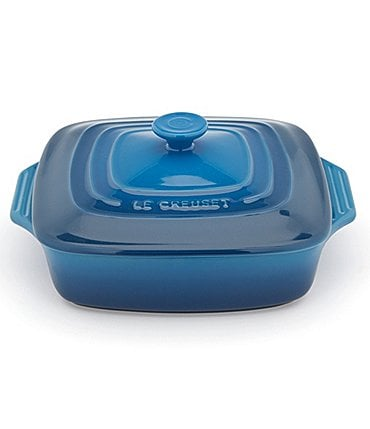 Image of Le Creuset Signature 2.75-Quart Square Stoneware Covered Casserole