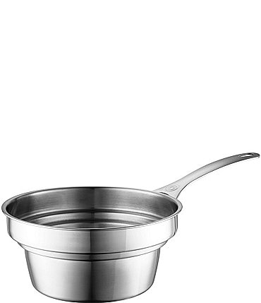 Image of Le Creuset Stainless Steel Double Boiler Insert for 2 and 3 Quart Saucepans