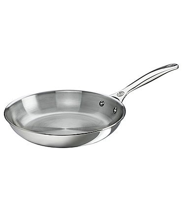 "Image of Le Creuset Tri-Ply Stainless Steel 10"" Fry Pan"