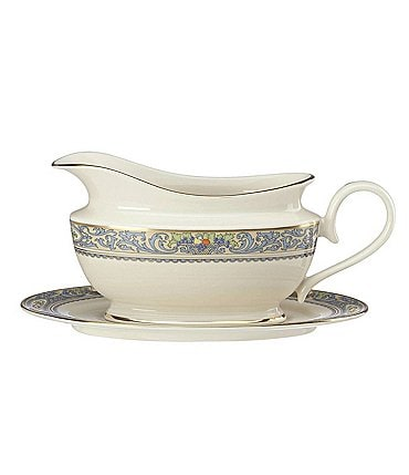 Image of Lenox Autumn® Sauce Boat & Stand
