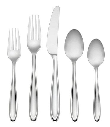 Image of Lenox Cantera 65-Piece Stainless Steel Flatware Set