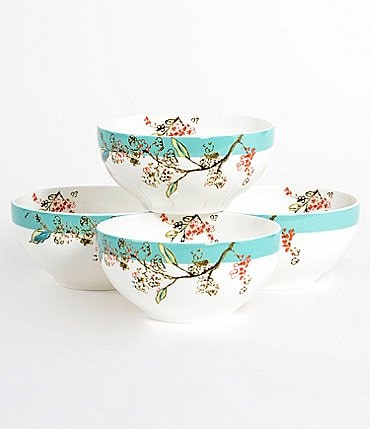Image of Lenox 4-Piece Chirp Dessert Bowl Set