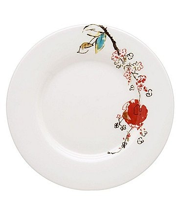 Image of Lenox Chirp Floral Bone China Bread & Butter Plate