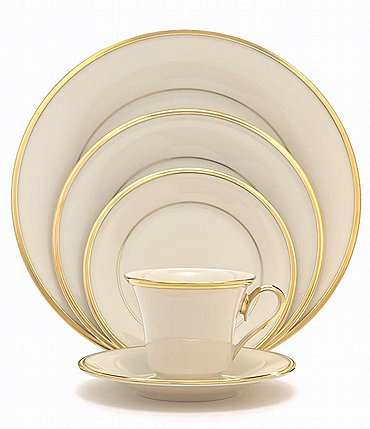 Image of Lenox Eternal Ivory 5-Piece Place Setting