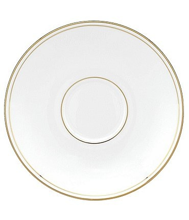 Image of Lenox Federal Gold Bone Saucer China