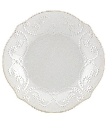 Image of Lenox French Perle Scalloped Stoneware Accent Salad Plate