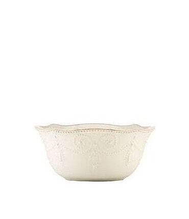 Image of Lenox French Perle Scalloped Stoneware All-Purpose Bowl
