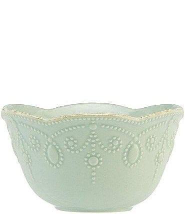 Image of Lenox French Perle Scalloped Stoneware Fruit Bowl