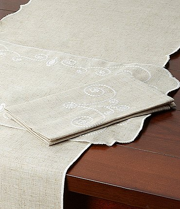 Image of Lenox French Perle Scroll Napkin