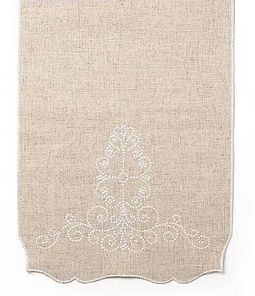 Image of Lenox French Perle Scroll Table Runner