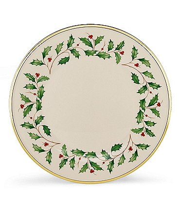 Image of Lenox Holiday Dinner Plate