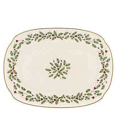 Image of Lenox Holiday Oblong Platter