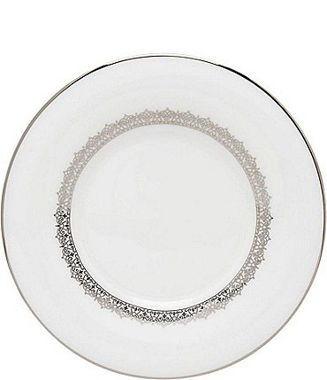 Image of Lenox Lace Couture Platinum Saucer