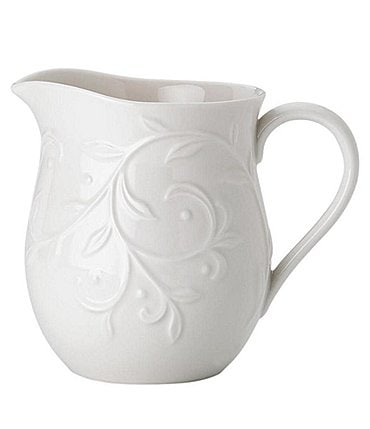 Image of Lenox Opal Innocence Carved Creamer