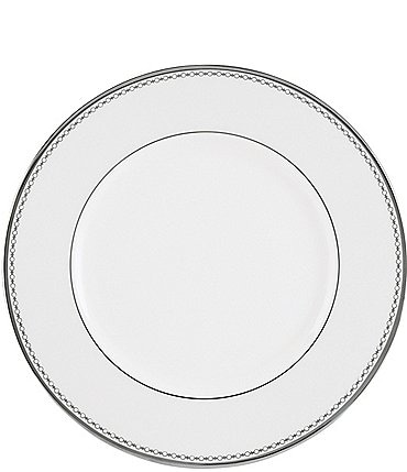 Image of Lenox Pearl Platinum Bone China Dinner Plate